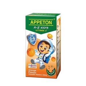 APPETON A-Z KID'S VITAMIN C (ORANGE)