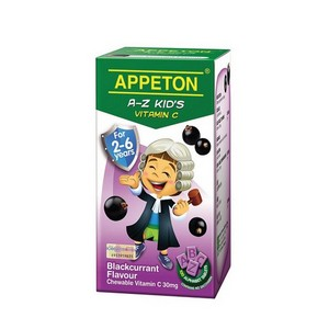 APPETON A-Z KID'S VITAMIN C (BLACKCURRANT)