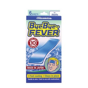 BYE BYE FEVER (ADULTS) @ 6 SHEETS