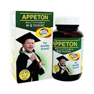 APPETON MULTIVITAMIN TAURINE HI-Q+DHA