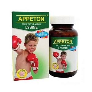 APPETON MULTIVITAMIN LYSINE WITH PREBIOTICS