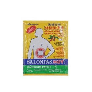 SALONPAS HOT @ 1 PATCH