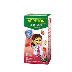APPETON A-Z KID'S VITAMIN C (STRAWBERRY)