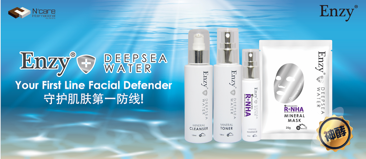 Enzy® + DEEPSEA WATER SERIES